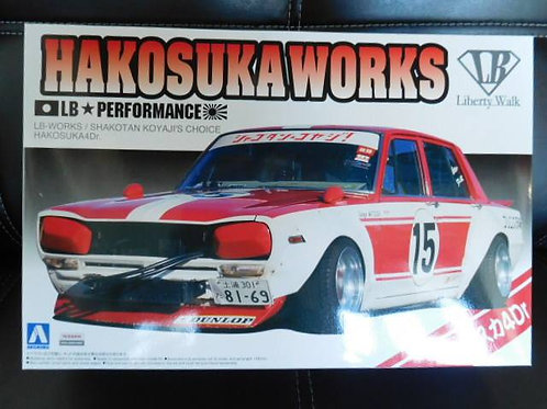 LB-WORKS プラモデル No.SP Hakosuka 4dr