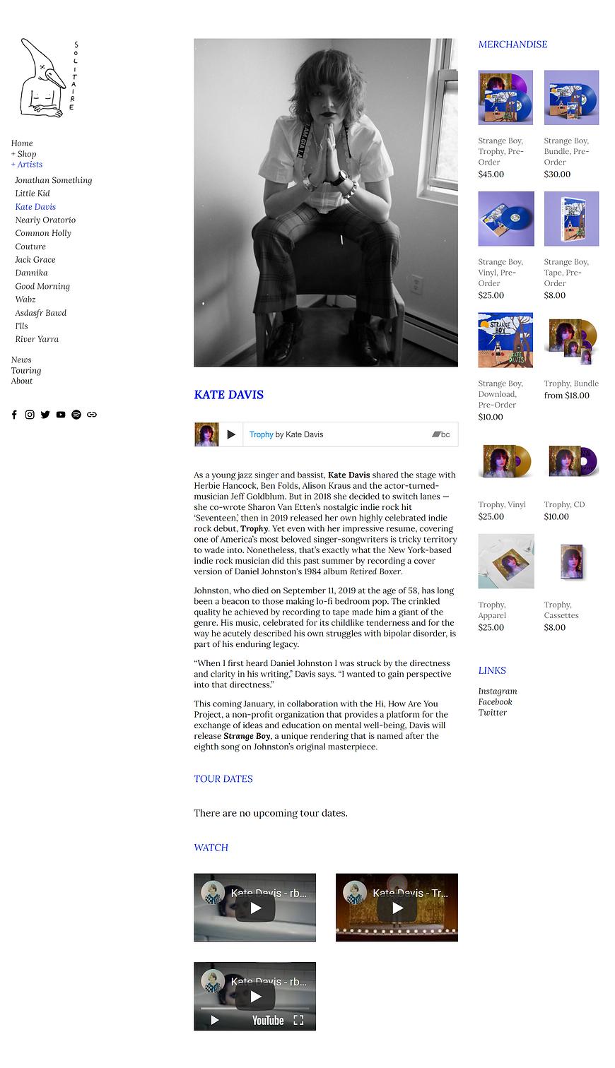 Kate Davis Solitaire website.png