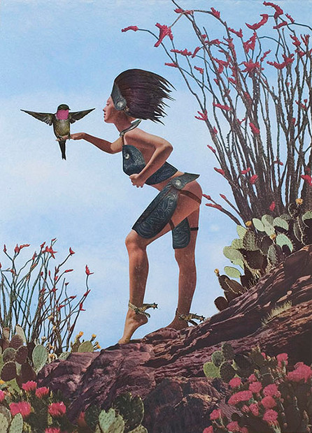 Girl with Hummingbird, 2009