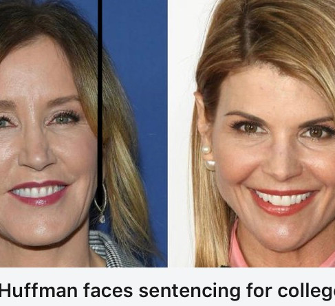 US actress Felicity Huffman has been sentenced to 14 days in prison for her involvement in a college