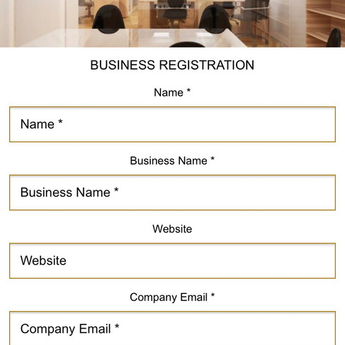 """Register your business Inside The """"FACTO"""" App"""