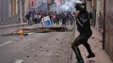 Ecuador protests: President moves government out of Quito