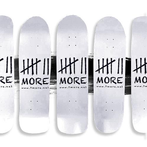 7More Skateboard Deck