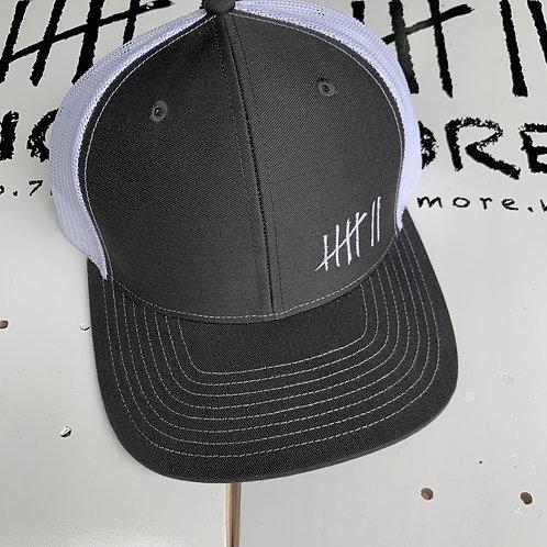 7More Trucker Hat - Black/White