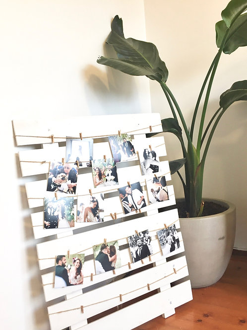 Photo display board