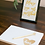 Thumbnail: Framed table numbers