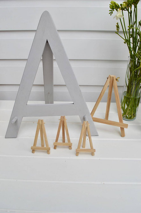 Assortment of easels