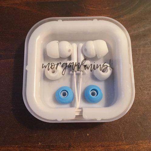 HEADPHONES W/CASE