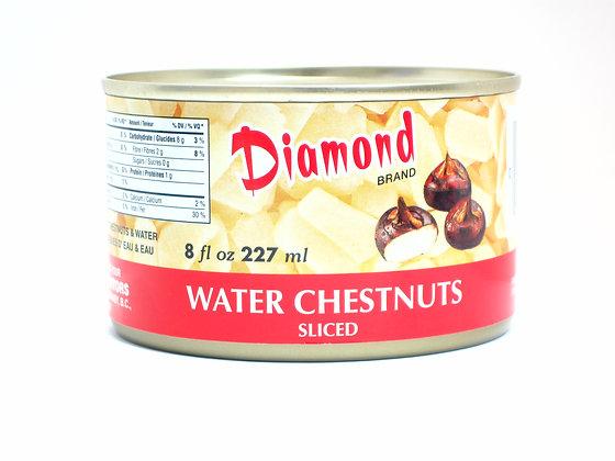 SLICED WATER CHESTNUT 鑽石牌馬蹄片 [12x227g]