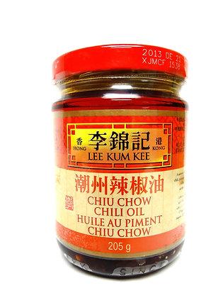 CHIU CHOW CHILI OIL 潮州辣椒油 [12x205g]
