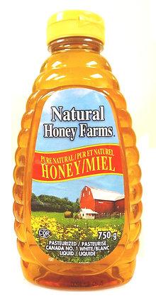 NATURAL HONEY FARMS PURE HONEY  [12X750G]
