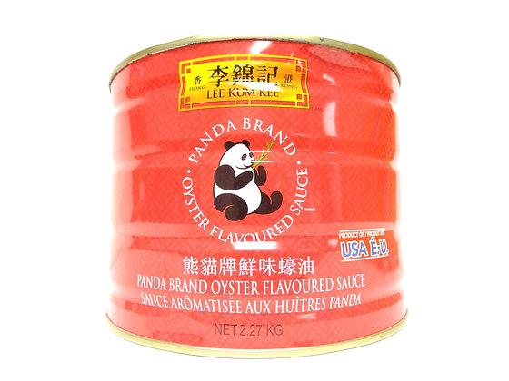 PANDA BRAND OYSTER SAUCE 熊猫牌 蠔油 [6x5lb]