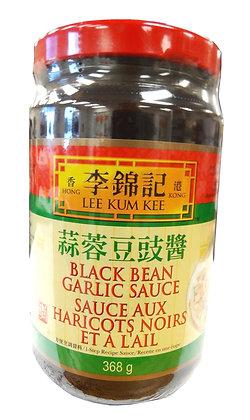 BLACK BEAN GARLIC SAUCE 蒜蓉豆豉酱 [12x368g]
