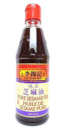 PURE SESAME OIL 純正芝麻油 [12x408g]