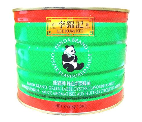 PANDA GREEN LABEL OYSTER SAUCE 熊猫綠色牌 蠔油 [6x5lb]