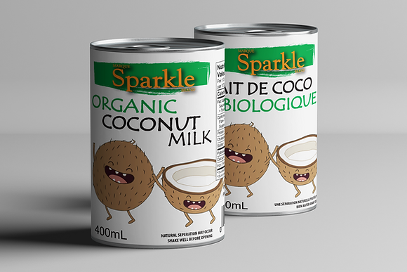 SPARKLE Organic Coconut Milk 400mL