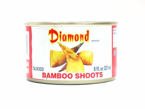 DIAMOND  SLICED BAMBOO SHOOTS 鑽石牌 竹筍片 [12x227G]