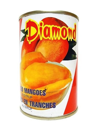 DIAMOND BRAND SLICED MANGOES 鑽石牌 芒果片 [24x14oz]