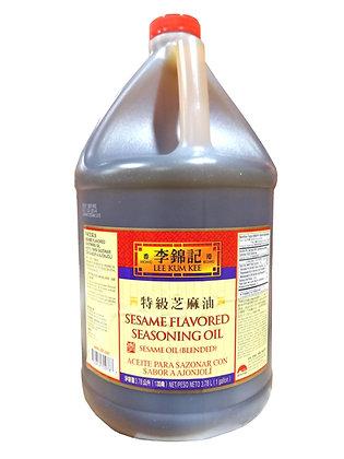 SESAME FLAVOURED SEASONING OIL 特级芝麻油 [4x1gall]