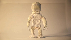 Stop-motion Astronaut Character Movement Tests - 2015