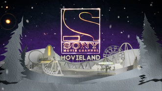 Sony Movie Channel Xmas Ident with Second Home Studios - 2018