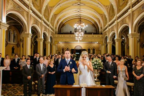 Paróquia Santa Teresinha do Menino Jesus - Casamento - Fernanda&André - Curitiba -PR