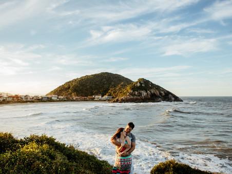 Ensaio Casal -  Praia da Enseada - Amanda&Natan - São Francisco do Sul - SC