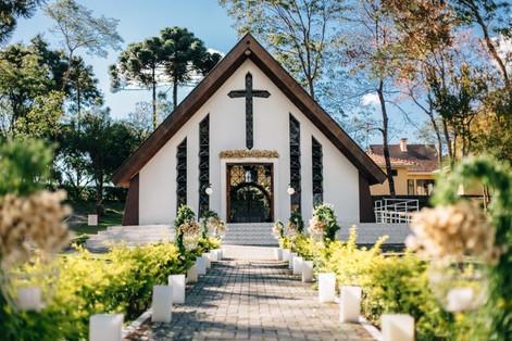 Isa&Leo - Casamento - Capela Nossa Senhora de Salette - Curitiba