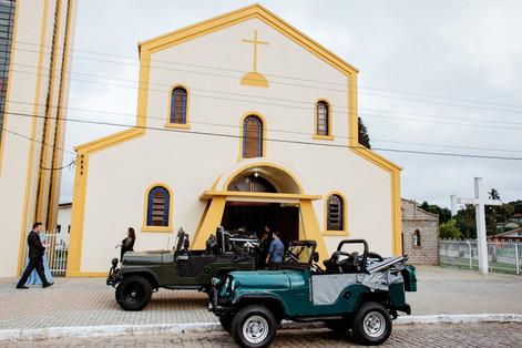 Igreja Nossa Senhora das Dores - Casamento - Leticia&Gerson - Tijucas do Sul - PR