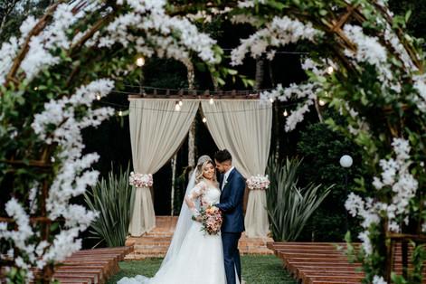 Casamento -  Chácara Krzak - Nadia&Rafael -  Curitiba