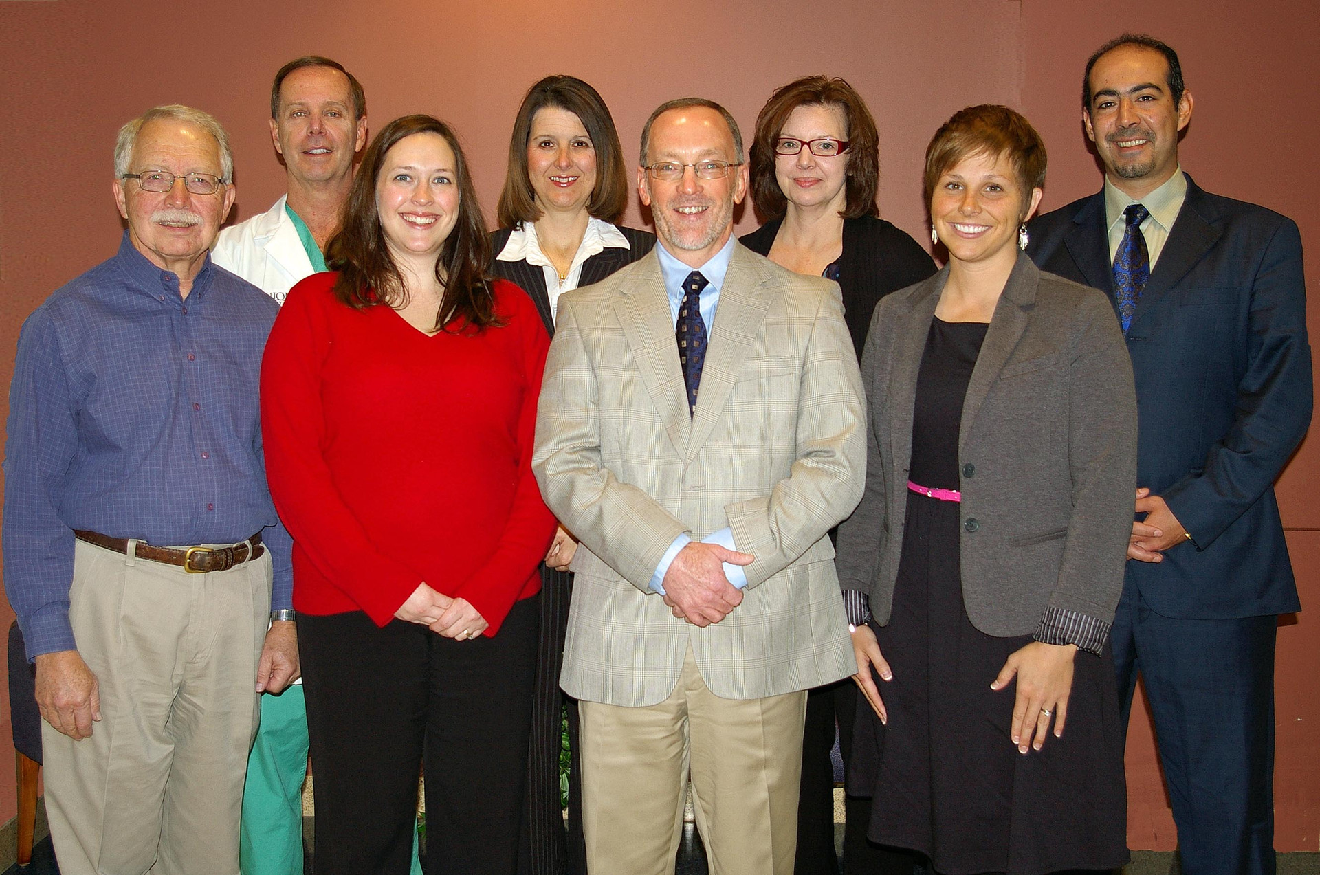 Dr. Buchler and the Lugar Center staff