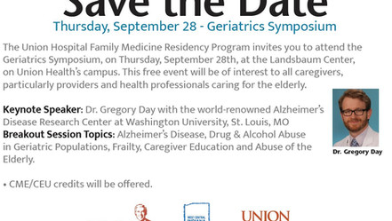 Lugar Center, West Central Indiana AHEC, and UHFMR Host Geriatrics Symposium