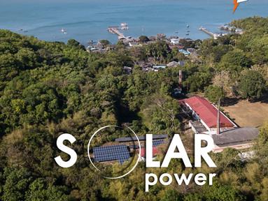 ชุมชนพลังงานสะอาดแสงอาทิตย์ เกาะจิก จ.จันทบุรี
