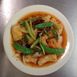 Fish Fillets in Thai Style Sauce