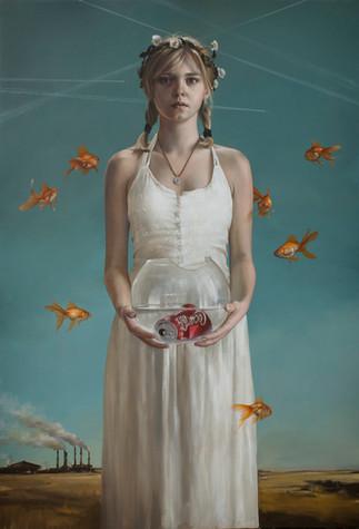 """""""PERICULUM IN MORA""""  140x95cm  Oil on canvas"""