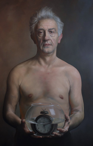 """""""Borka""""  60x100cm Oil on canvas"""