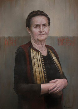 """My mother"" /Oil on canvas/ 50x70 cm"