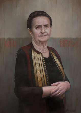 Portrait of my Mother  80x65 cm