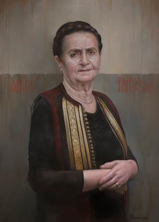 Portrait of my Mother  80x65 cm
