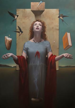 """""""VITA NUOVA""""      162x114   Oil on canvas"""