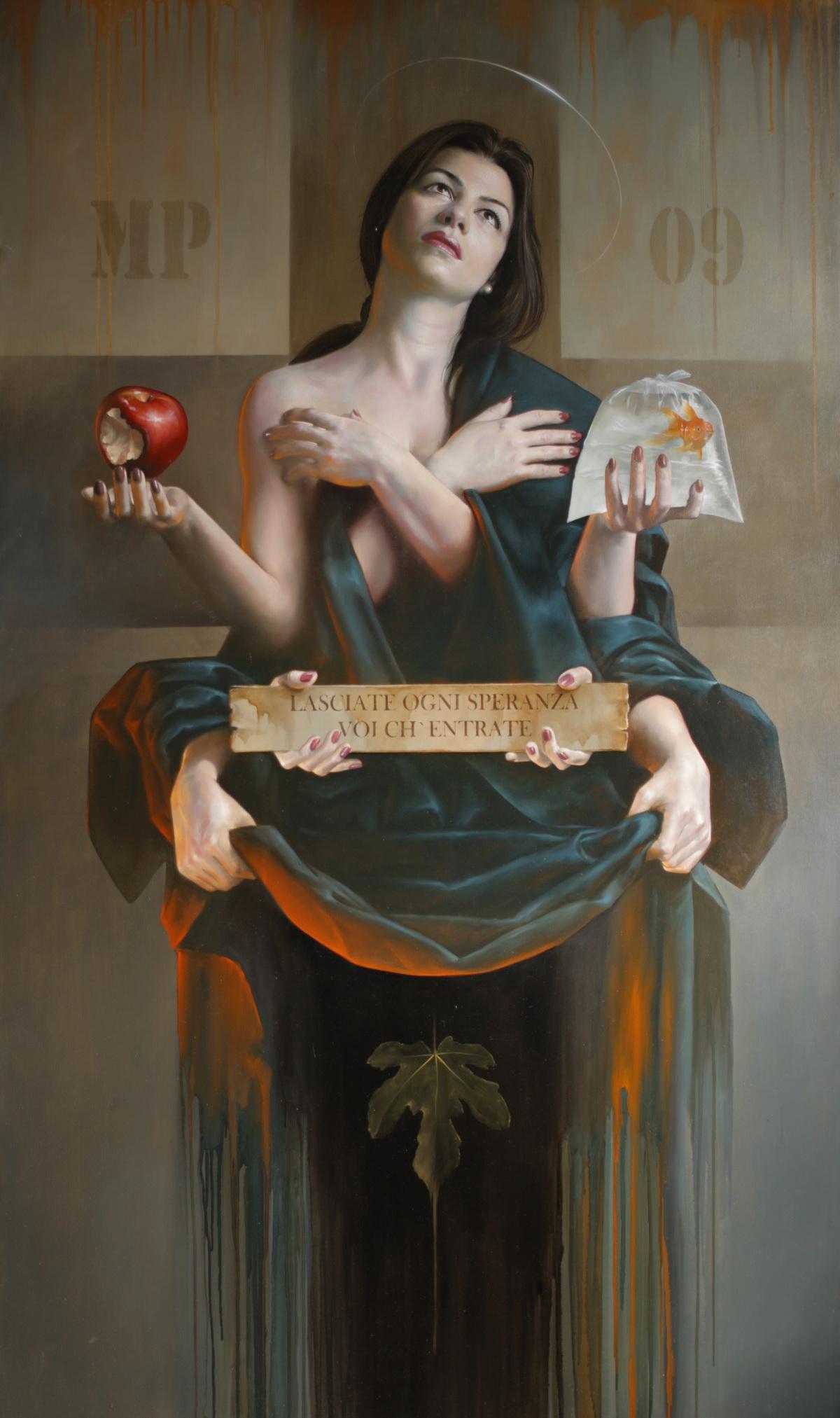 SPERANZA / Oil on canvas /114x195 cm