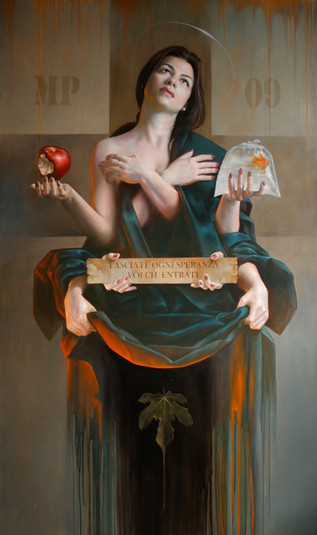 """SPERANZA""     114x195cm  Oil on canvas"