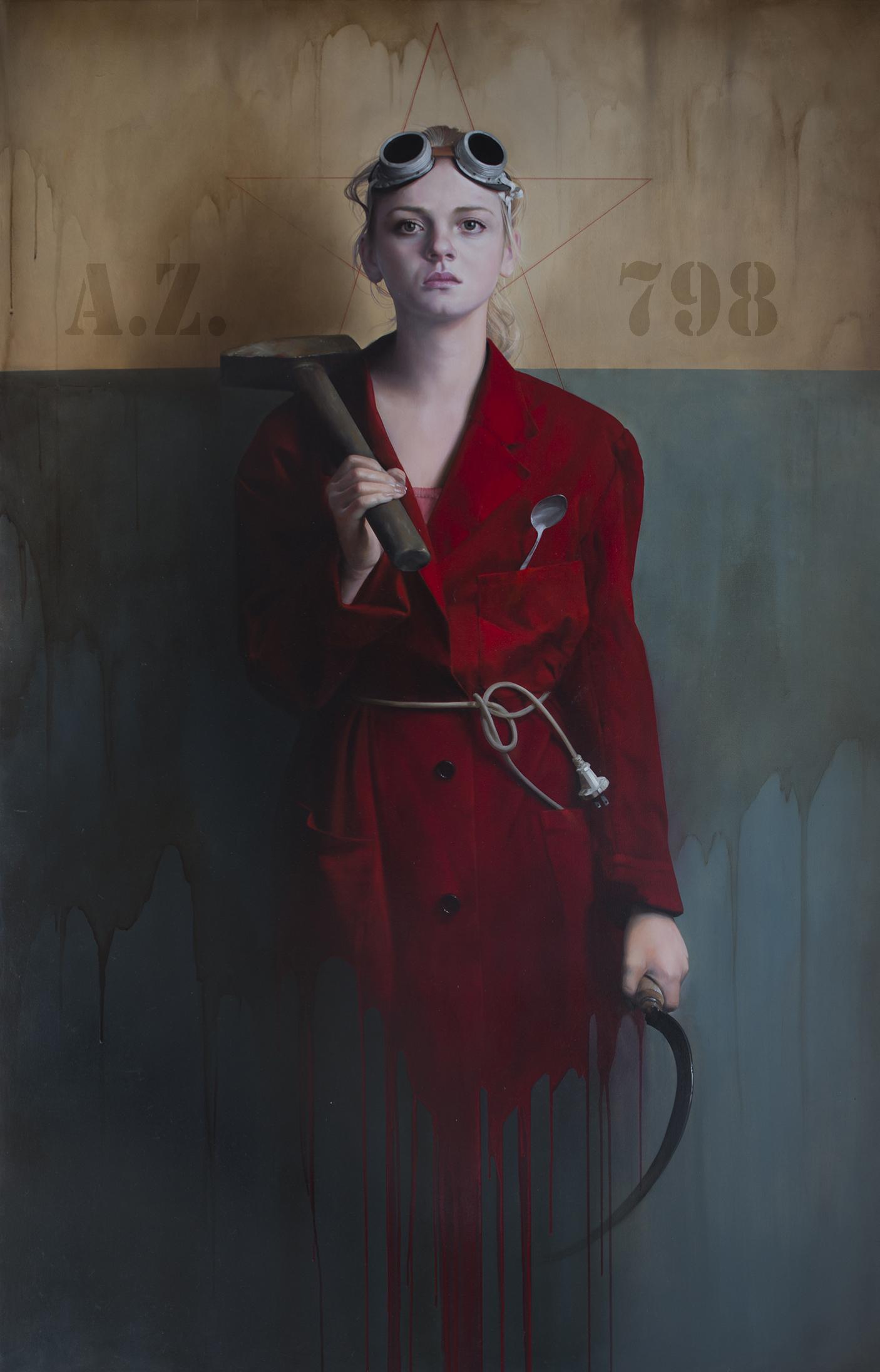 ,,Je_crois_en_progrès,,_185x120_oil_on_canvas