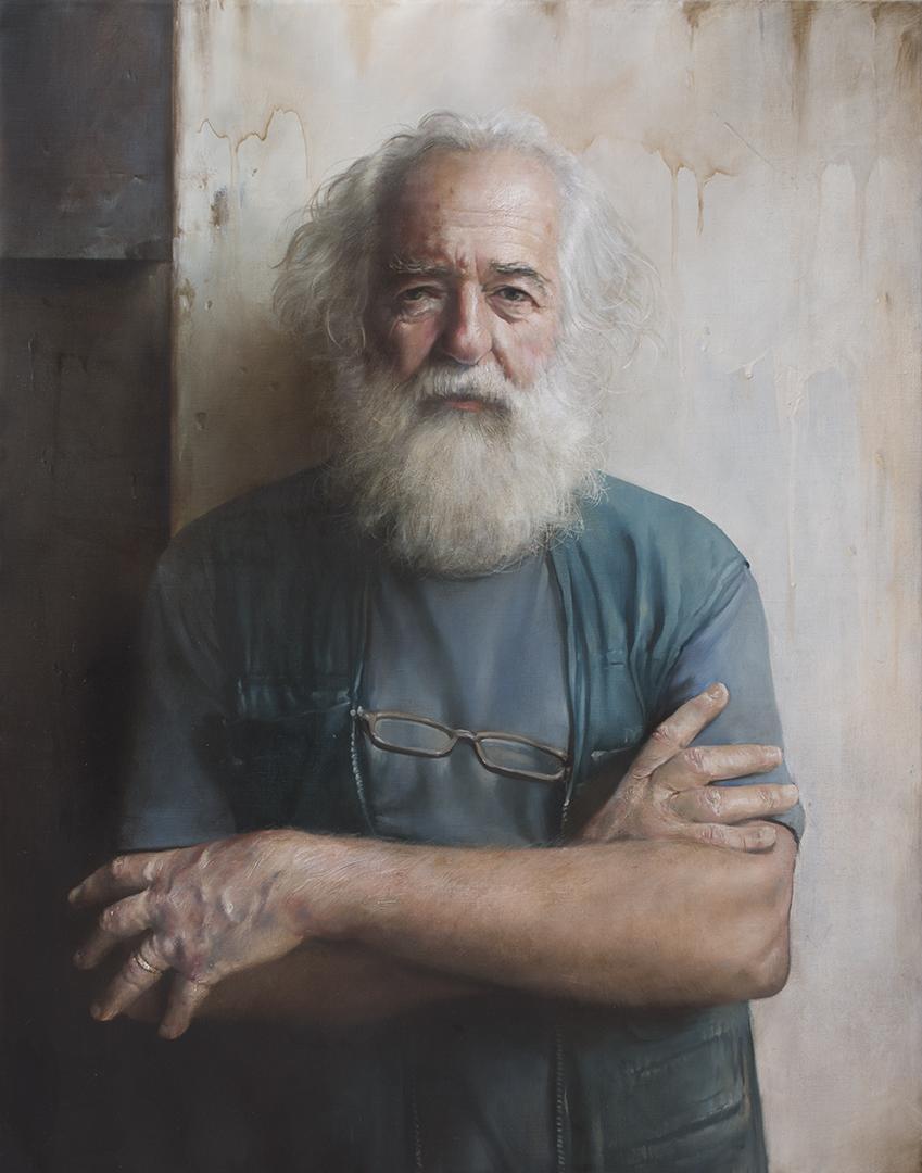 ,,Franc'' / 63x80 cm /Oil on canvas