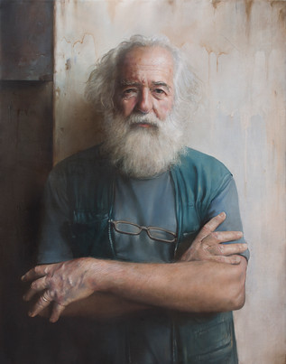 ,,Franc'' 63x80 cm oil on canvas