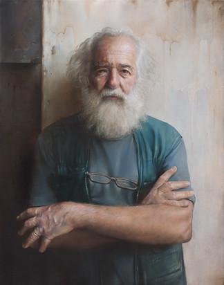 ,,Franc'' 63x80 cm oil on canvas