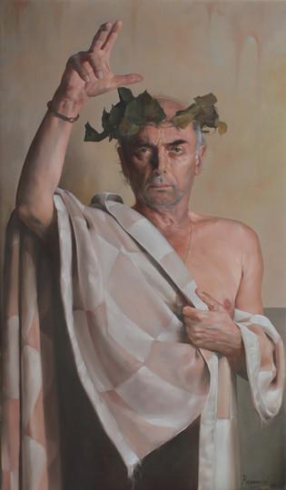 """""""Sicut Vergilius""""  120x78cm Oil on canvas"""