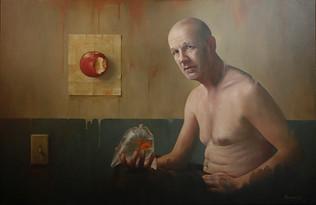 """""""Esse reliquum"""" 100x95cm  Oil on canvas"""