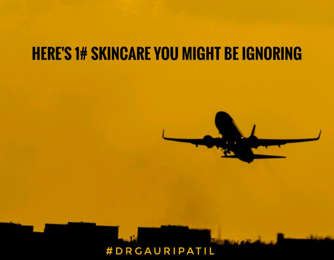 Do you travel frequently in flight?? Here's 1# skincare you might be ignoring