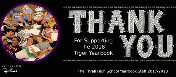 Thrall Hig School Yearbook Staff